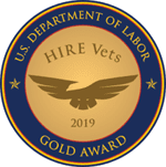 U.S. Department of Labor - Hire Vets - Gold Award